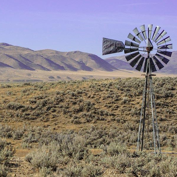open range on the drive to elko nevada