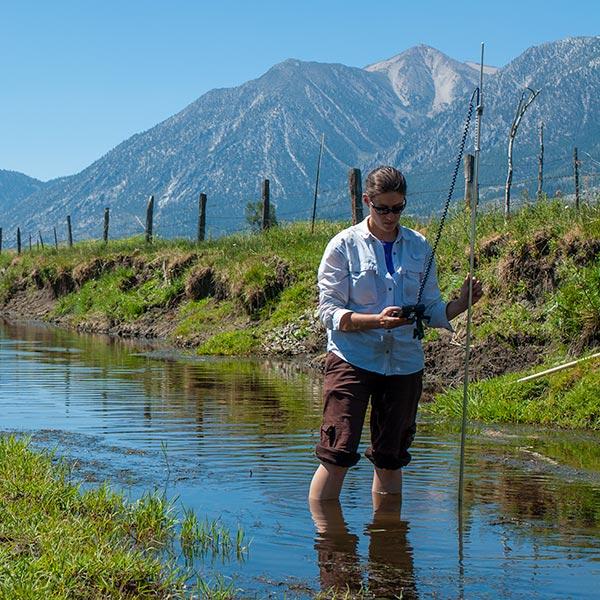 collecting water samples around genoa nevada